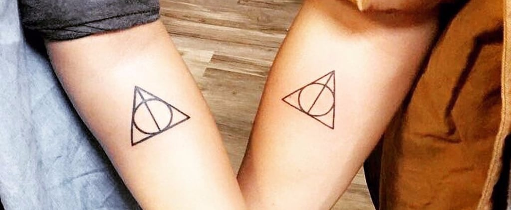"21 Matching Harry Potter Tattoos For Couples Who Will ""Always"" Stay Together"