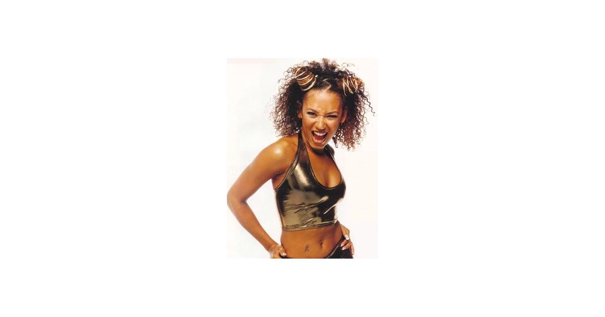 Scary Spice | '90s Knots Hair Tutorial | POPSUGAR Beauty ...Scary Spice Makeup