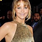 Jennifer Lawrence With Bangs