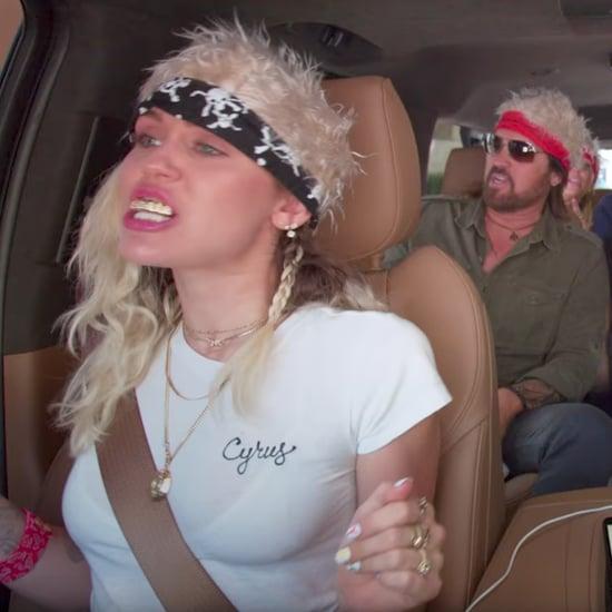 Cyrus Family Carpool Karaoke Video