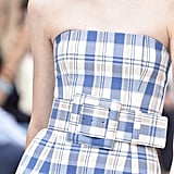 A Belt on the Carolina Herrera Runway at New York Fashion Week