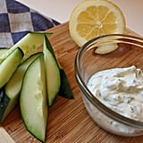 Cucumbers With Cooling Greek Dip