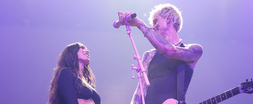 Megan Fox's Crop-Top Outfit on Stage With Machine Gun Kelly