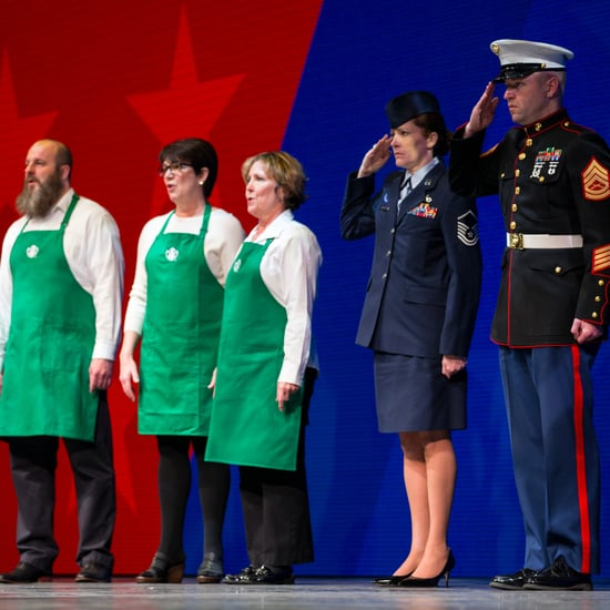 Starbucks Hires More Veterans and Military Spouses