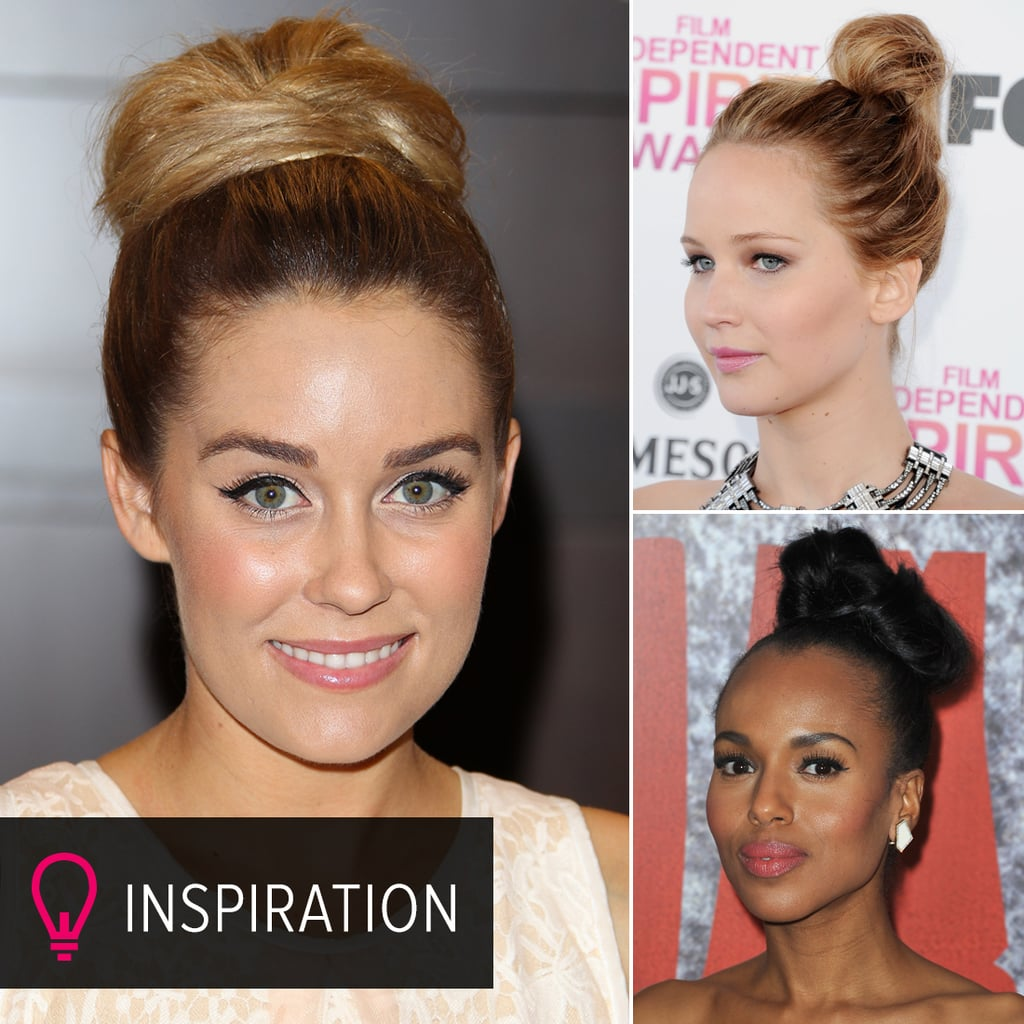 40 Topknot Looks to Top Off Your Trendy Style