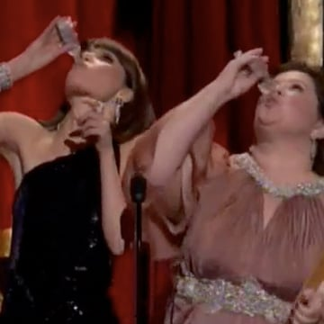 Bridesmaids Play Scorsese Drinking Game at Oscars Video
