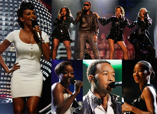 Photos From The 2008 Mobo Awards Ceremony And Show Featuring Sugababes, Mel B, Taio Cruz, Estelle, John Legend and more