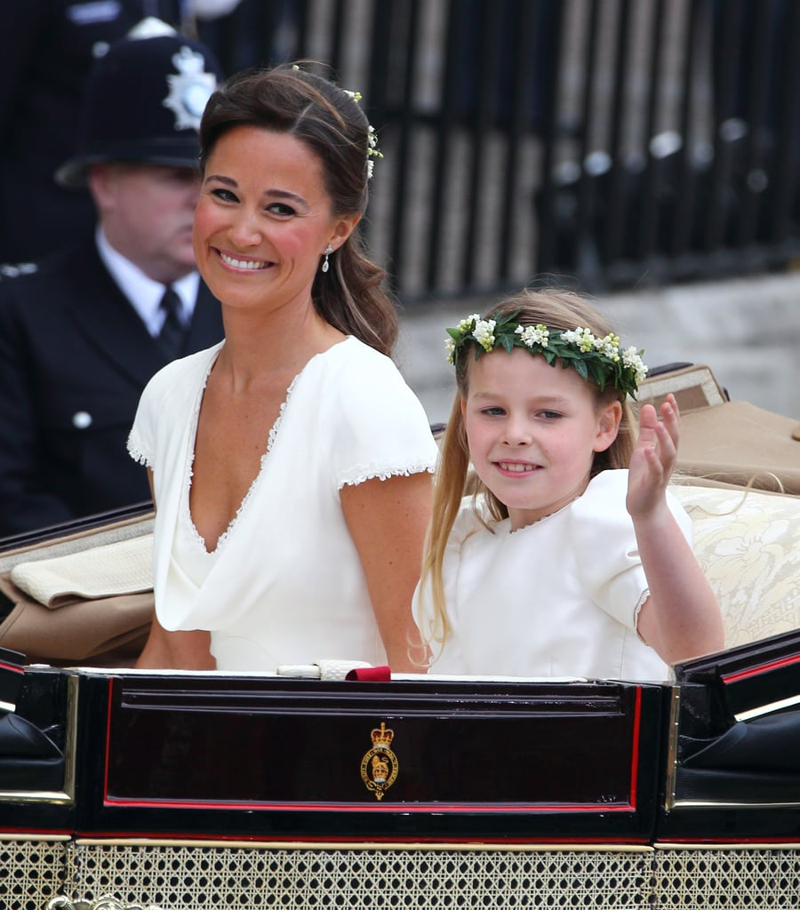 Pippa Middleton at Kate and William's Wedding Pictures