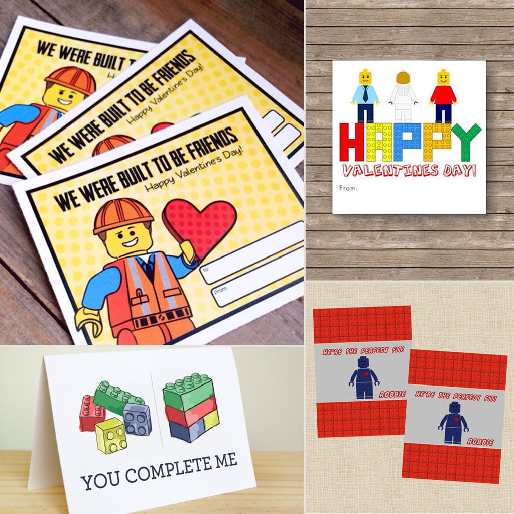 Lego Valentines For Kids