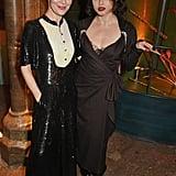 Helen McCrory and Helena Bonham Carter