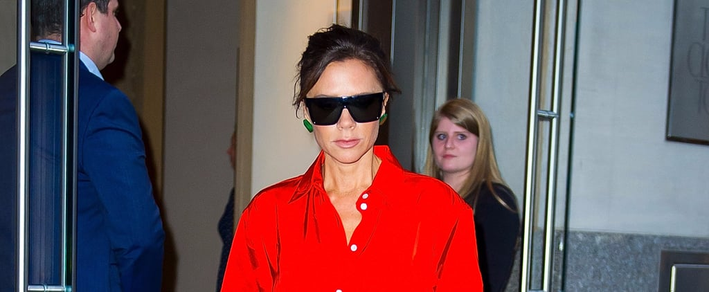 Victoria Beckham Found the Perfect Fashion Girl Ensemble to Wear on a Lazy Day