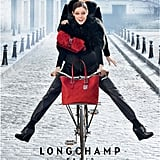 Longchamp brought back Coco Rocha for its Fall '12 ads.