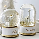 Pottery Barn Kids Elephant Snowglobe