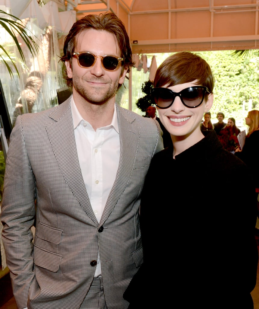 f52e4ba981 Bradley Cooper and Anne Hathaway were decked out in shades at January s AFI  Awards.