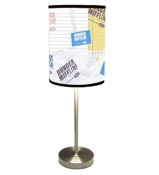 Dunder Mifflin Logo Lamp ($50)