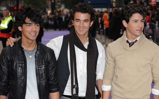14/5/2009 Jonas Brothers 3D Concert Experience Movie UK Premiere