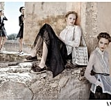 We love the subtle La Dolce Vita references in Valentino's latest ad campaign. Source: Fashion Gone Rogue