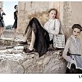 We love the subtle La Dolce Vita references in Valentino's latest ad campaign. Source: Fashion Gone Rogue