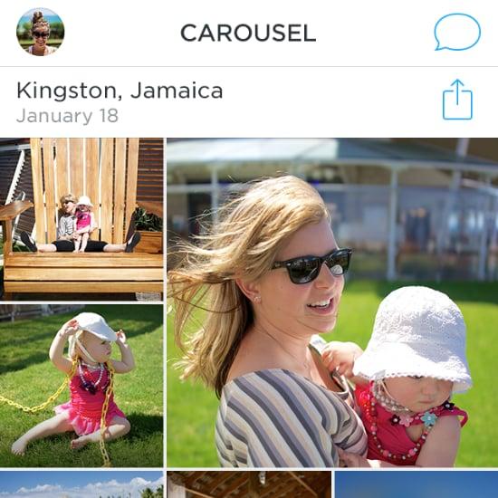 Carousel Photo Sharing App by Dropbox