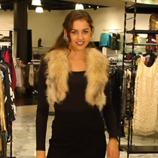 How to Wear a Faux Fur Vest 2011
