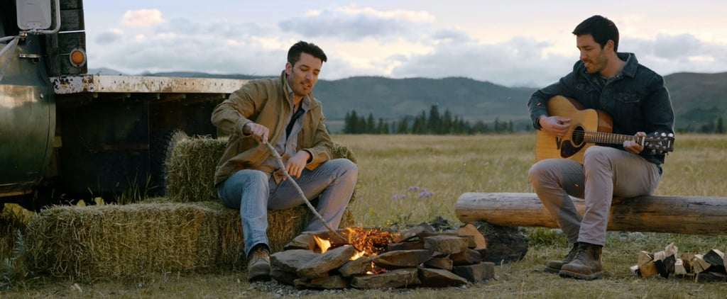 We Have Your Exclusive First Look at the Property Brothers at Home on the Ranch