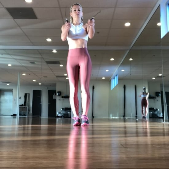 Simone De La Rue Skipping Rope Workout