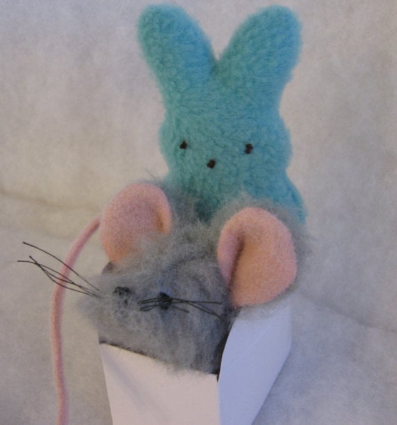 Catnip Mouse and Easter Bunny