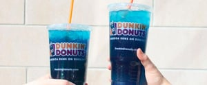 Dunkin' Donuts's Blue Raspberry Drink Has the Caffeine Boost You Need