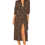 Bardot Leopard Print Shirt Dress