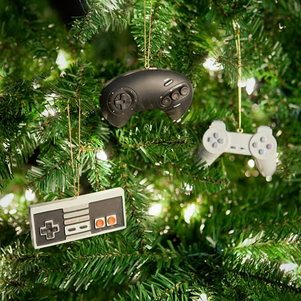 Video Game Controller Ornament Set