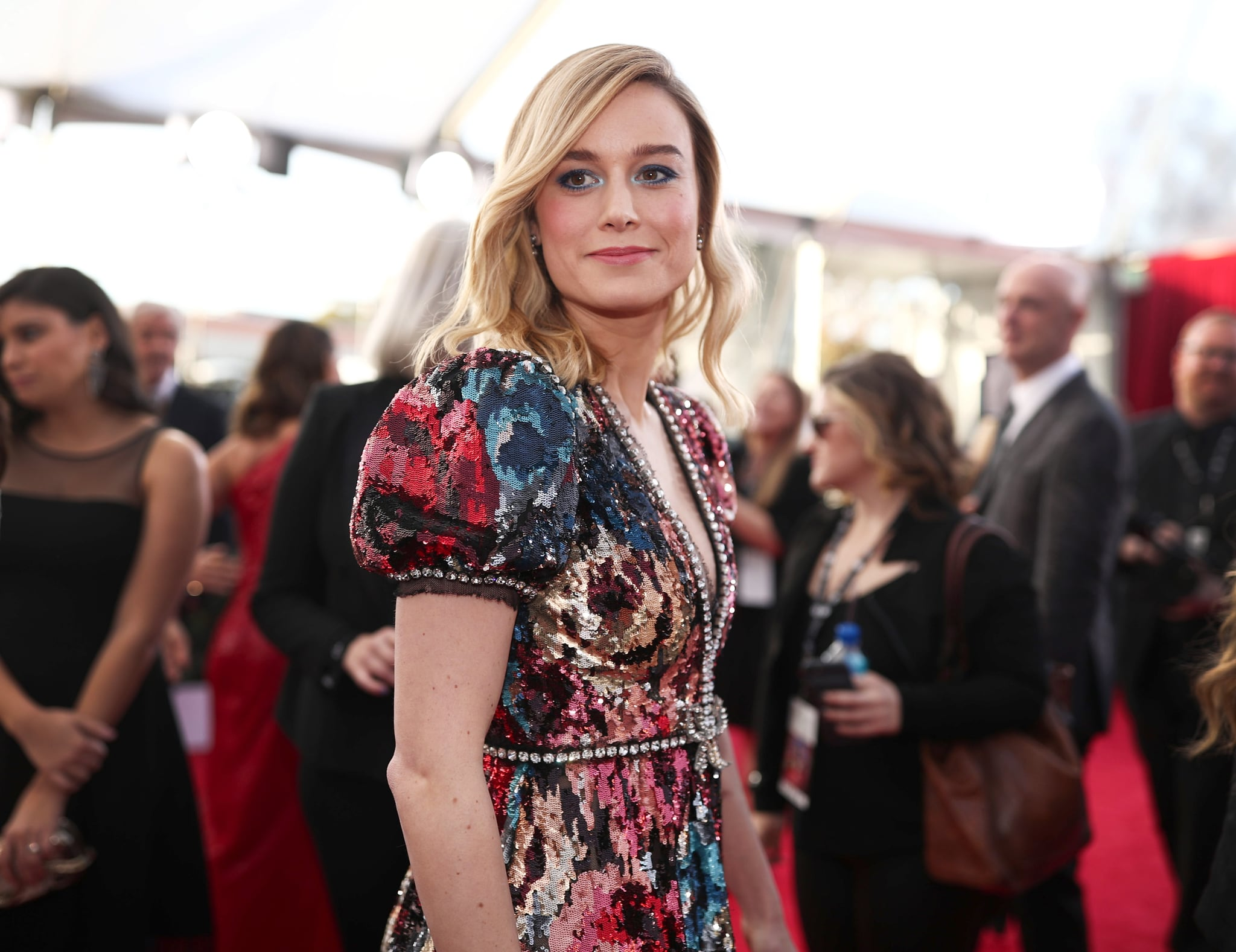 LOS ANGELES, CA - JANUARY 21:  Actor Brie Larson attends the 24th Annual Screen Actors Guild Awards at The Shrine Auditorium on January 21, 2018 in Los Angeles, California. 27522_010  (Photo by Christopher Polk/Getty Images for Turner)