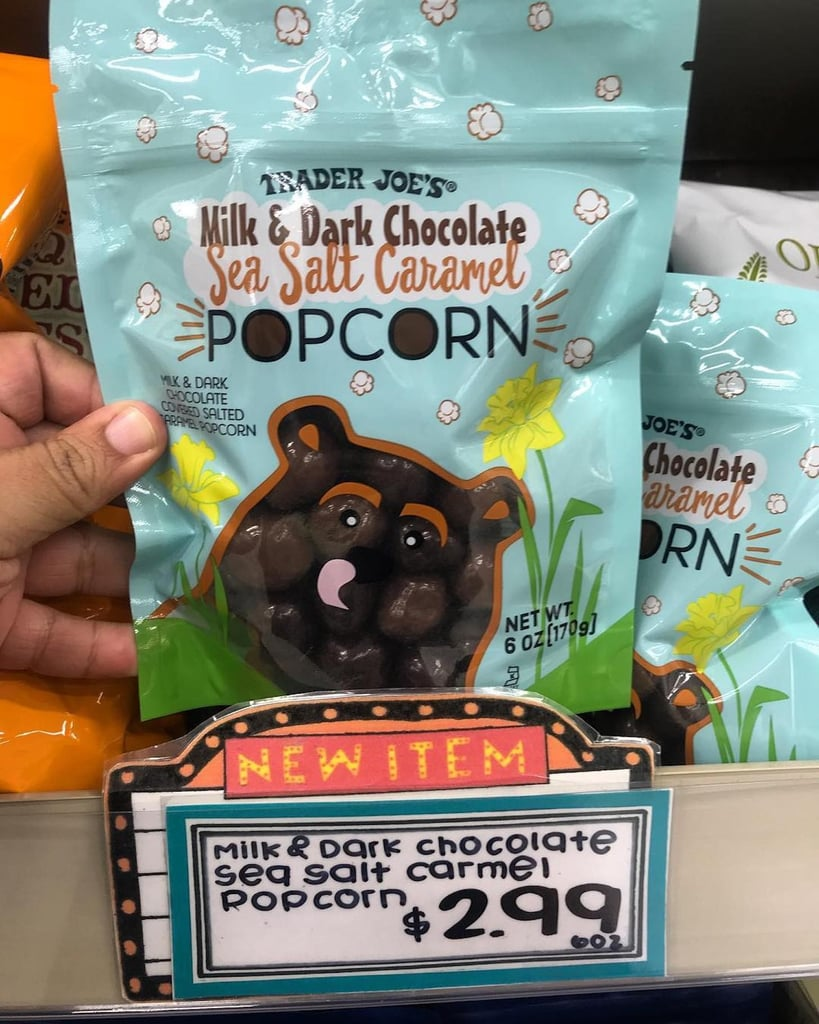 Trader Joe's Chocolate Covered Salted Caramel Popcorn 2019