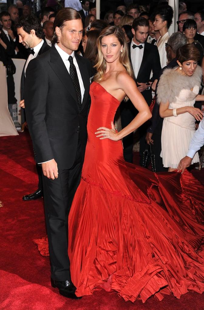 Gisele Bündchen and Tom Brady — 2011