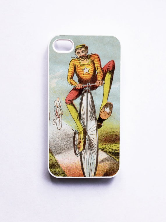 Vintage Bicycle Racer iPhone 4 Case ($17)