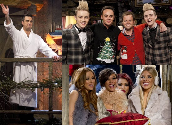 Photos from Ant and Dec's Christmas Special 2009 including Robbie Williams, Jedward, The Saturdays. Will You Watch?
