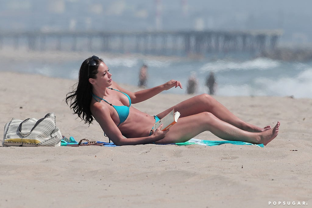 Desiree Hartsock kicked off Summer with a beach day.