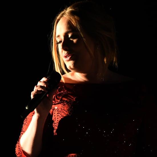 Adele at the Grammy Awards 2016