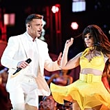 Pictured: Ricky Martin and Camila Cabello