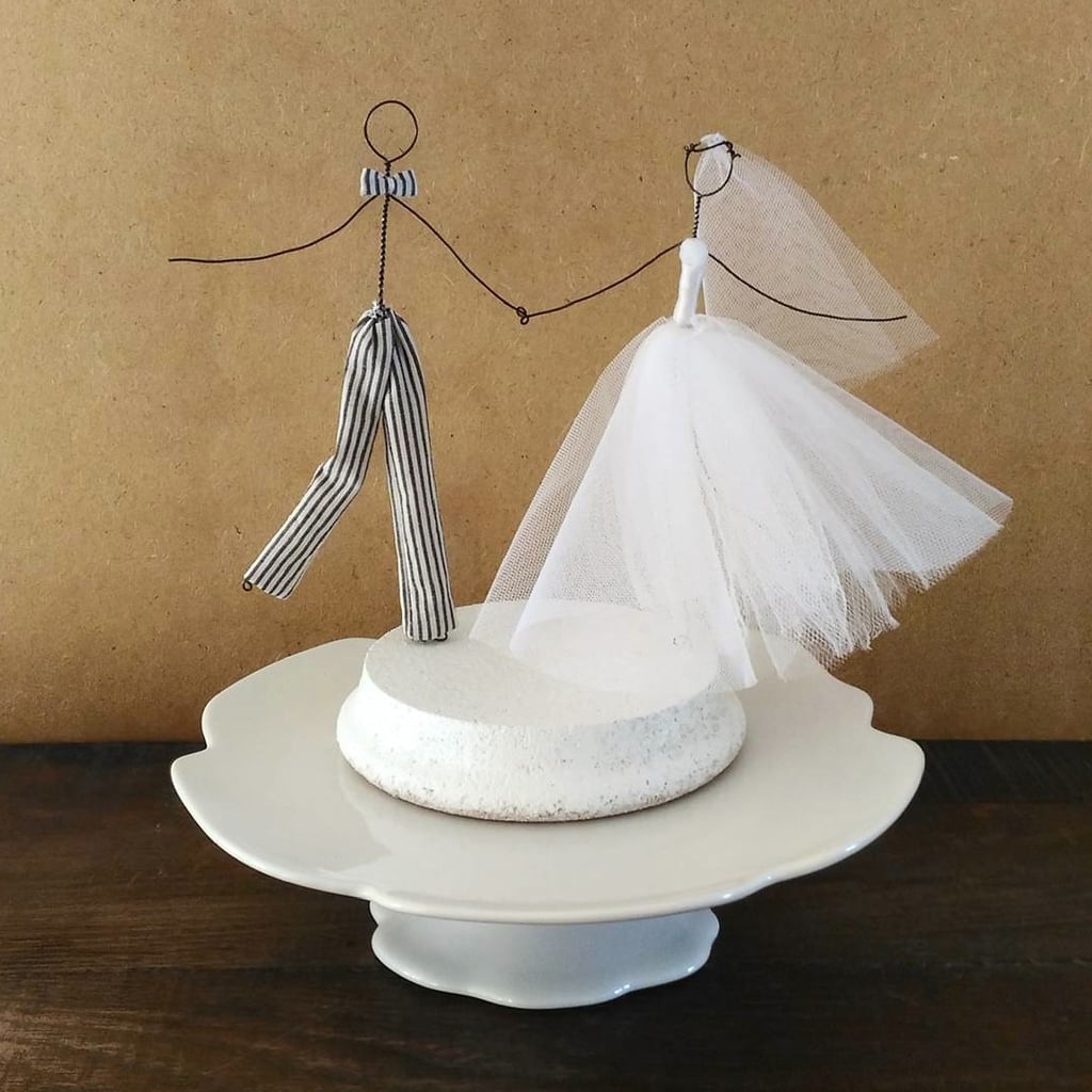 unusual wedding cake toppers uk wedding cake toppers popsugar uk 21502
