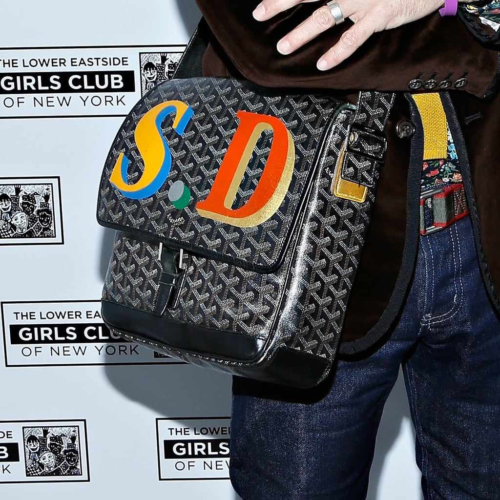 """Goyard Monogrammed Computer Bag """"Being able to personalize a gift makes it all the more special. So who could be mad at a Goyard computer case with their initials or name? Not me!"""""""