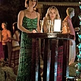 Jessica Stroup as Silver and Gillian Zinser as Ivy on 90210.  Photo courtesy of The CW