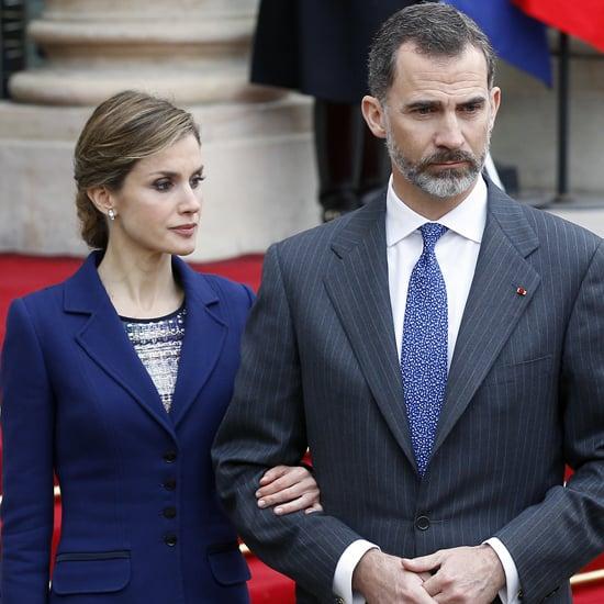 King Felipe VI and Queen Letizia in France March 2015