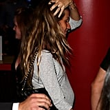 Gisele Bundchen was out in Boston with her husband.
