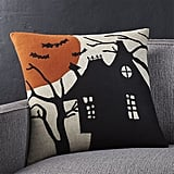 Haunted House Halloween Pillow ($40)