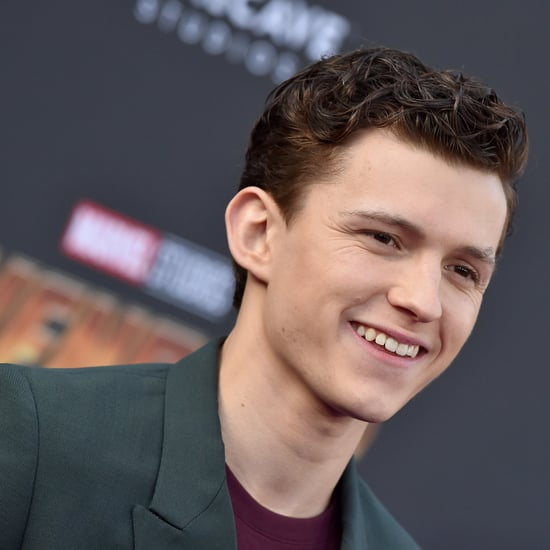 Tom Holland Rescues Stray Dog