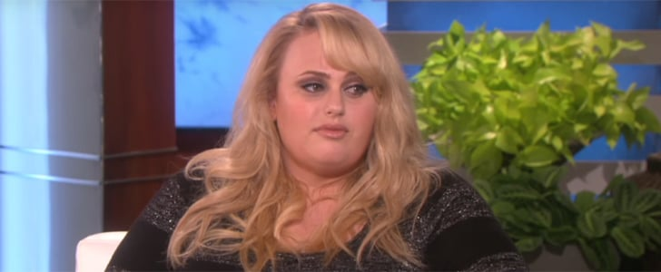 Rebel Wilson on The Ellen DeGeneres Show November 2015