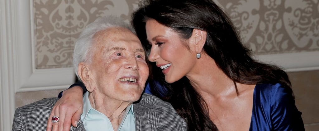 How Are Kirk Douglas and Catherine Zeta-Jones Related?
