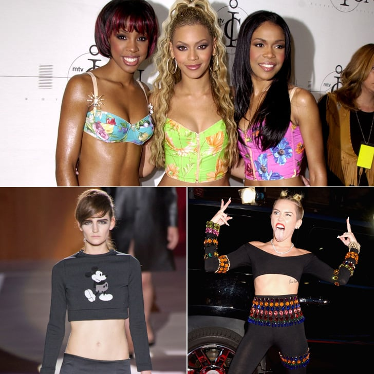 Great Moments in Crop-Top History