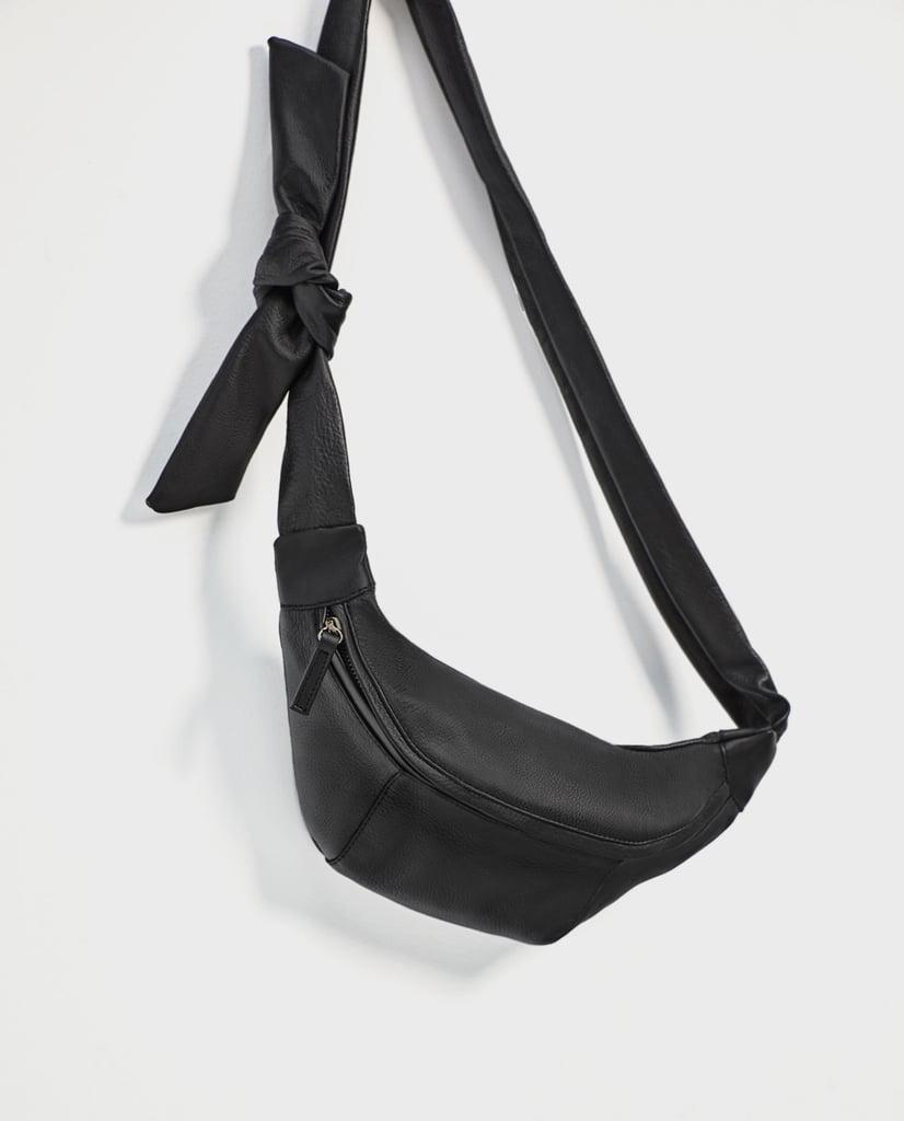 Zara Leather Belt Bag