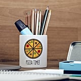 Pizza Time Pencil Pot